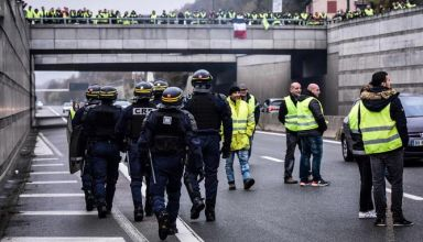 FRANCE-POLITICS-FUEL-PROTEST
