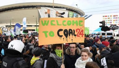 POLAND-CLIMATE-COP24-WARMING-DEMO