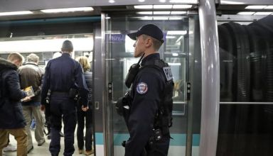 FRANCE-POLICE-METRO-TRANSPORT-PATROL-SECURITY-BRF